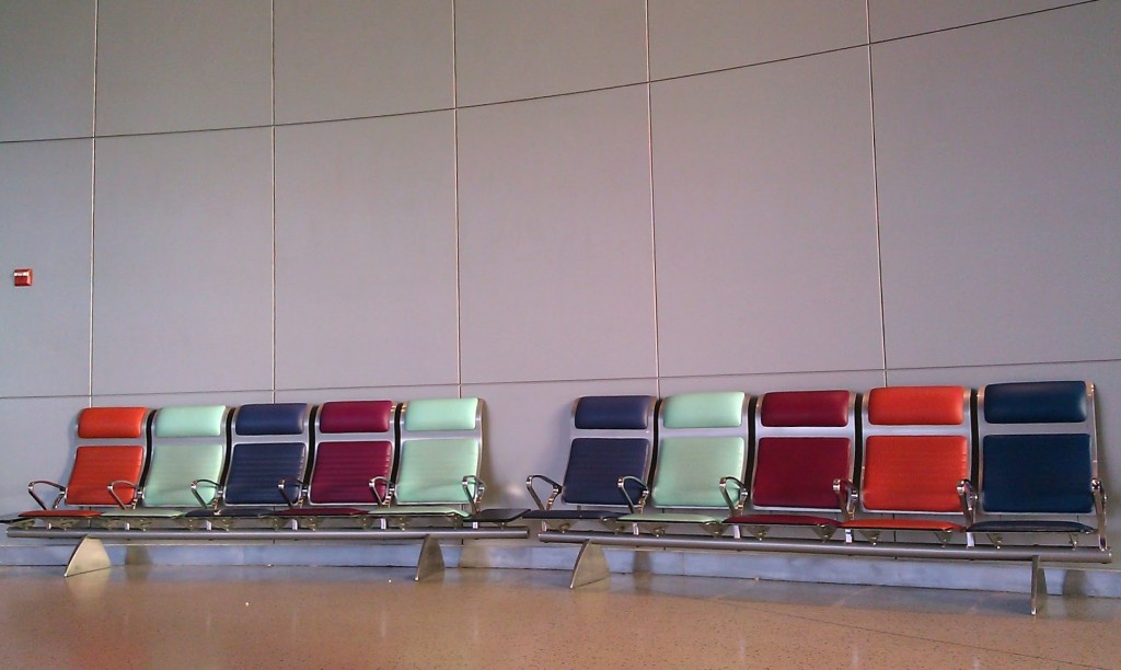 Chairs at John F. Kennedy Terminal 7