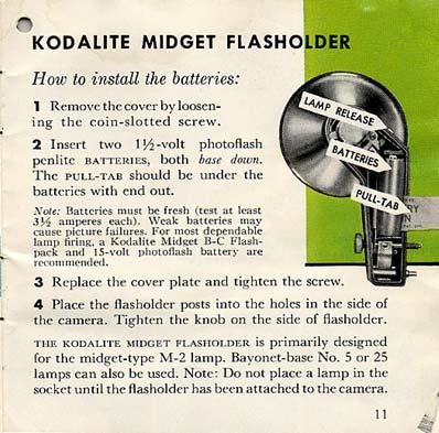 Kodalite Midget Flasholder